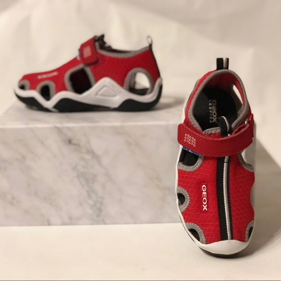 cf28f56029 Geox Shoes | Wader C Boys Sandals Blue Royal | Poshmark
